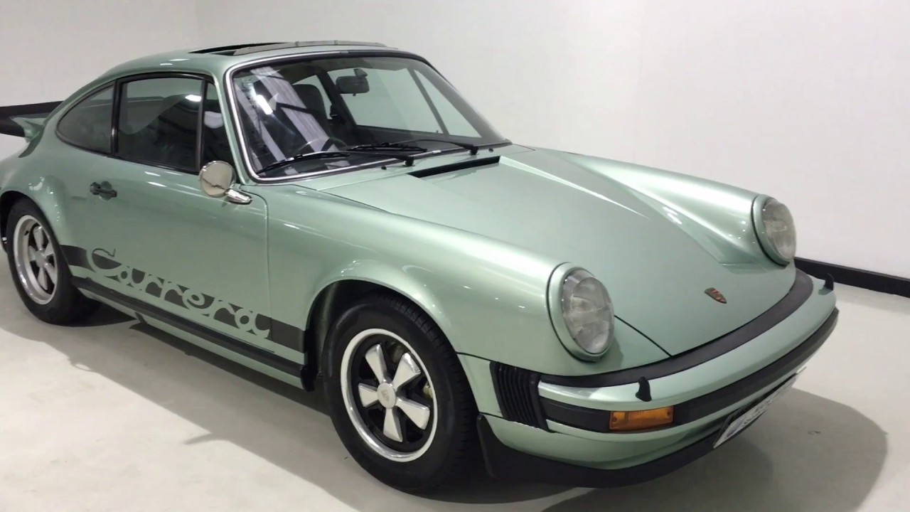 for sale porsche 911 carrera 2 7 mfi coupe 1975 nick whale sports cars youtube. Black Bedroom Furniture Sets. Home Design Ideas