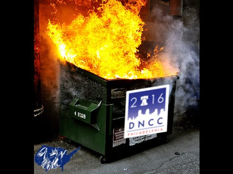 Climbing The DNC Fence To Put Out The Dumpster Fire Episode #5 of Liberty Coast 2 Coast