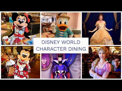 Disney World Character Dining Guide