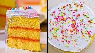 2 Потрясающих торта из простых продуктов! Быстро и вкусно