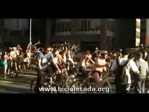 World Naked Bike Ride 2008 - X Games - Encerramento Aventuras