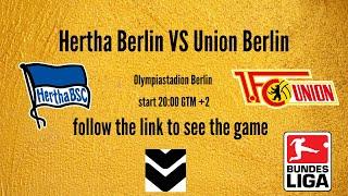 Hertha berlin union 22-05-2020 live stream! #bundesligalive #footballlive -