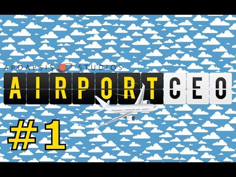 "Let's play Airport CEO (Prague Letnany) - part 1 ""Welcome to Prague Letnany"""