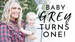 My Baby GREY is 1! | Molly Sims 2018