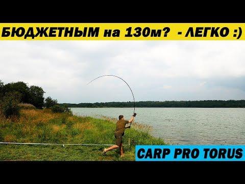 Карповое удилище для начинающих. Carp Pro Torus 13ft 3,5lb + Халява)