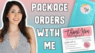 PACKAGING DESIGN | Packaging Etsy Orders