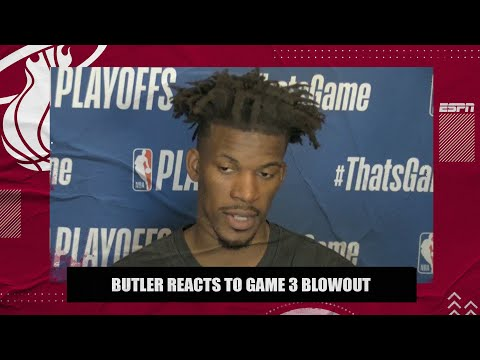 Jimmy Butler doesn't care about the history of 3-0 but knows Heat have to get things right 🔥 | ESPN