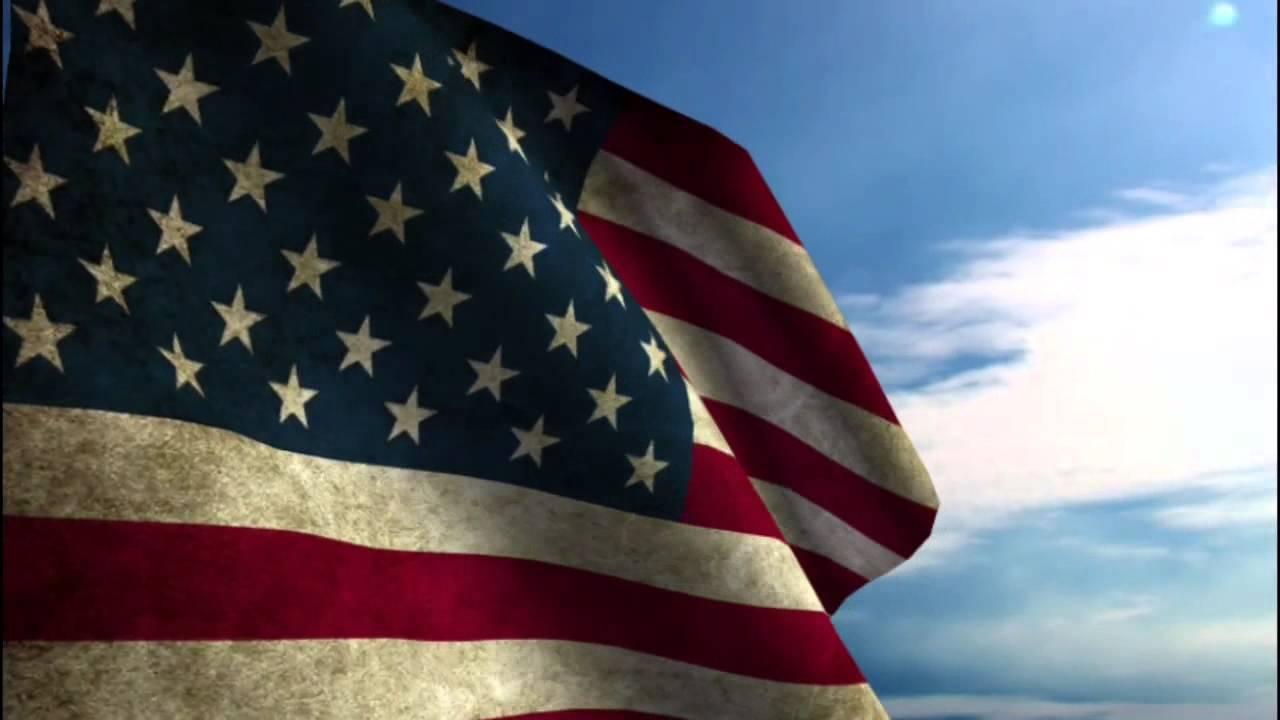 American Flag HD - YouTube