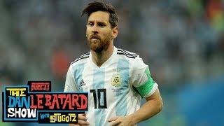 Men in Blazers' Roger Bennett: Messi has been 'Ralph Wiggum' this World Cup | Dan Le Batard | ESPN