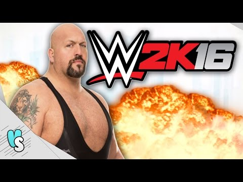 WWE 2K16 Indonesia - Vanskadi & Watchout & Big Show - Triple Threat Ladder Match