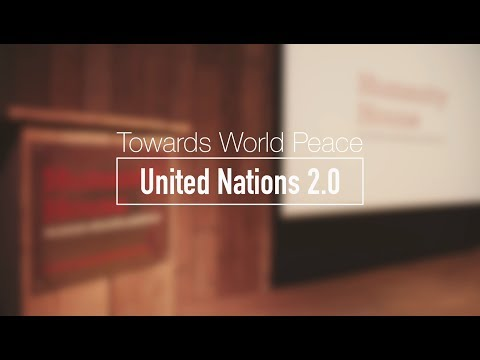 Amin Rafiee - BITNATION | Towards World Peace! U.N. 2.0 | Full Version