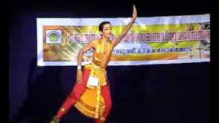 Bharatanatyam classical Indian dance competition 3 - Kerala Higher Secondary School Youth festival