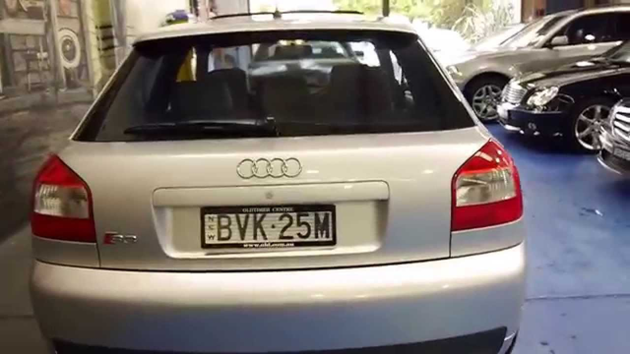 audi s3 2003 6 speed manual turbo quattro youtube. Black Bedroom Furniture Sets. Home Design Ideas