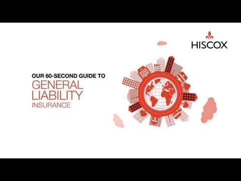 General Liability Insurance : 60-Second Guide - Hiscox