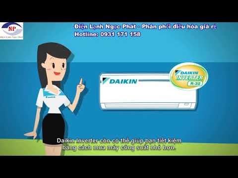 Điều hòa Daikin - nhà phân phối Điện Lạnh Ngọc Phát - YouTube