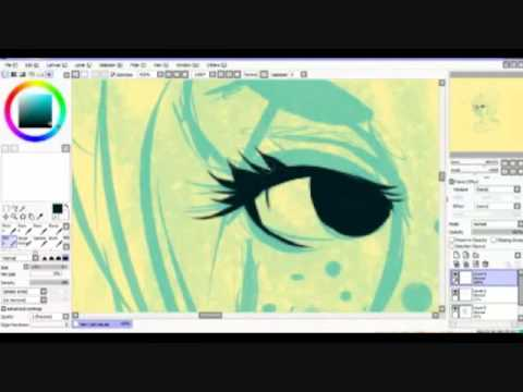 Yamio Lineart : How i do my linework in paint tool sai narrated! youtube