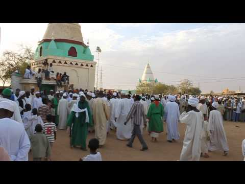 Northern Sudan -Traditional Islamic Dance in a Cemetery 3