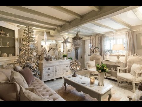 🌼25+ Charming Shabby Chic Living Room Decoration Ideas🌼