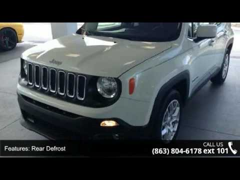 2017 Jeep Renegade Laude Lake Wales Chrysler Dodge J You
