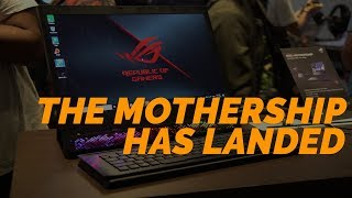 THE ASUS ROG MOTHERSHIP HAS LANDED!!! 👽👽👽