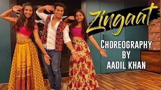 Video Zingaat   Dhadak   Ishaan & Janhvi   Aadil Khan Choreography download MP3, 3GP, MP4, WEBM, AVI, FLV Agustus 2018