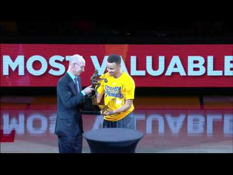 Stephen Curry Kia NBA MVP Award Presentation