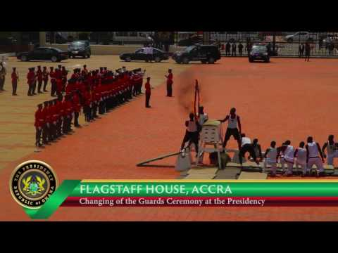 Change of Guard Ceremony At The Presidency