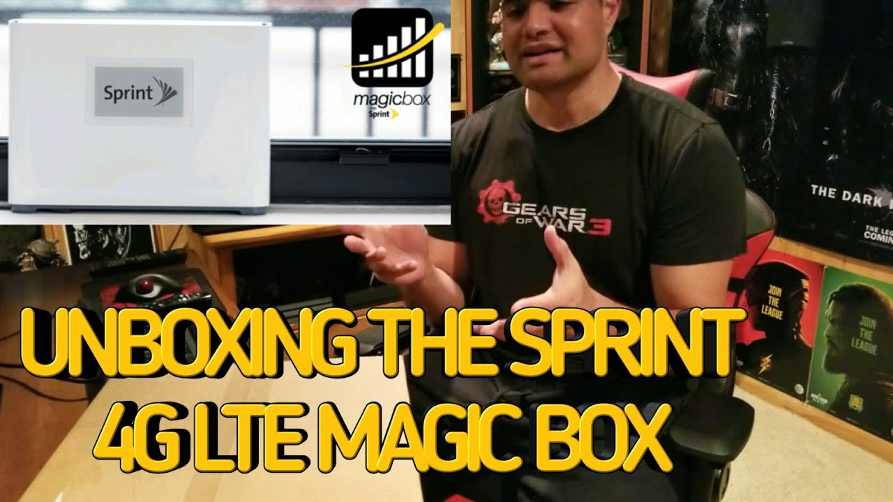 Unboxing the Sprint 4G LTE Magic Box