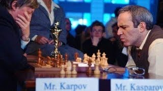 Anatoly Karpov Vs Garry Kasparov - Rapid Match 2009: Valencia, Spain - Gary Chess Grandmaster