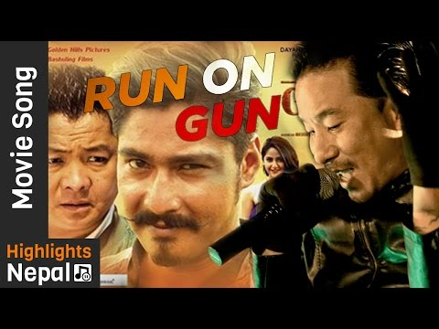 RUN ON GUN by Sabin Rai | Nepali Movie...