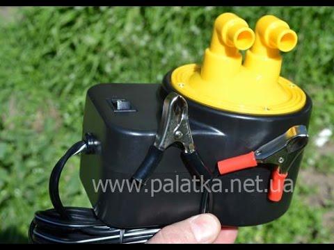 компрессоры для лодок из пвх видео