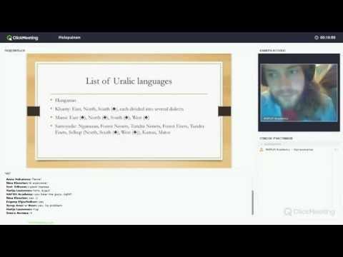 Holopainen - Introduction to Uralic languages