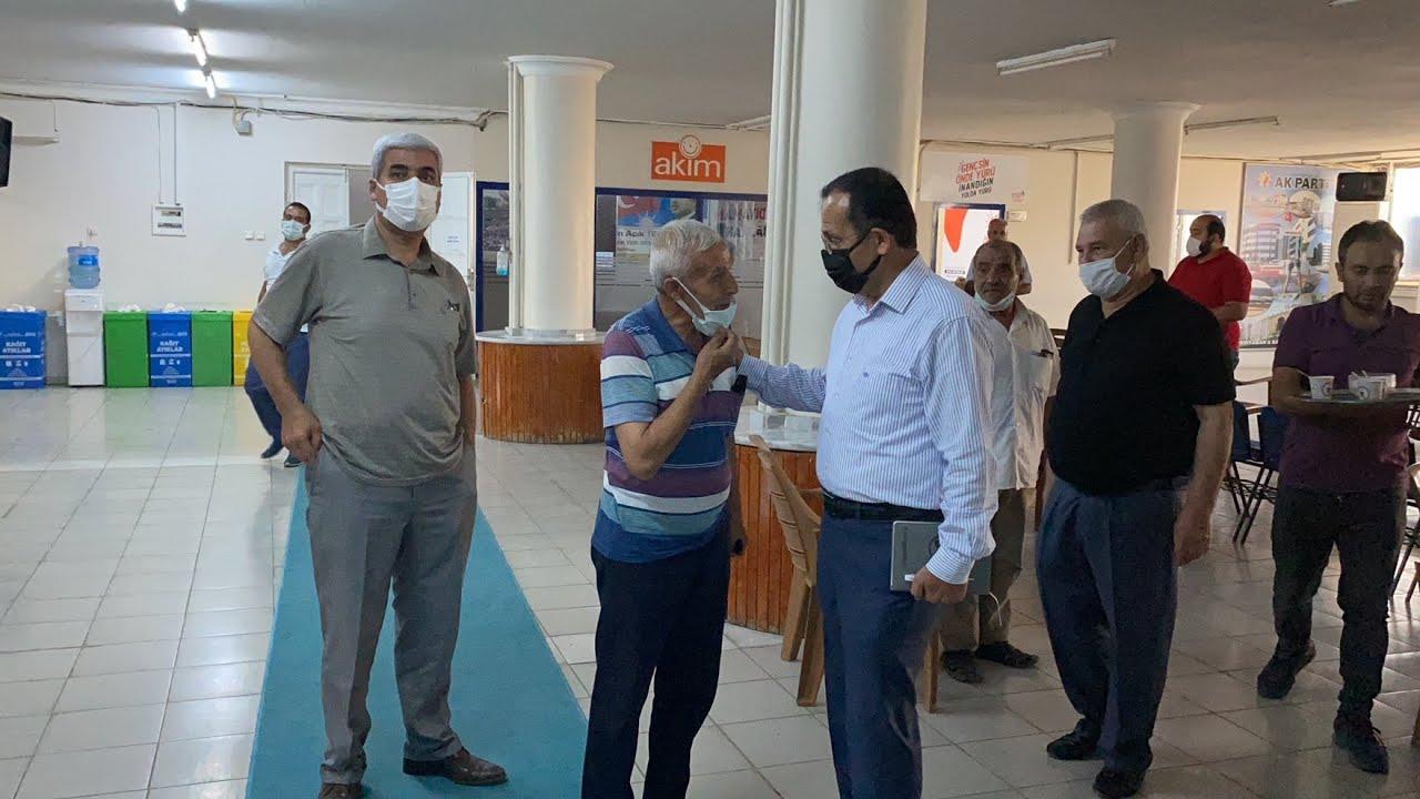 Başkan Dağtekin, parti binasında vatandaşlarla buluştu