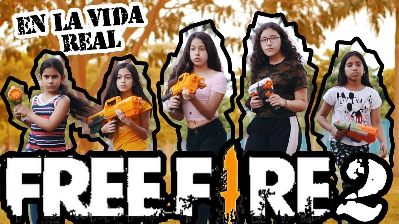 FREE FIRE EN LA VIDA REAL ( PARTE 2 )