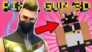 HOW TO MAKE DRIFT in PIXEL GUN 3D! (Fortnite Skin Tutorial)