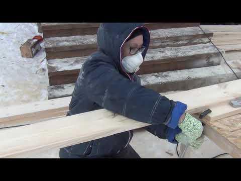 Планкен из обрезной доски своими руками