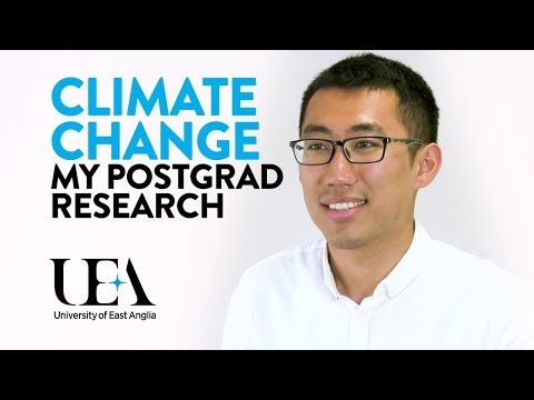 Yuli's PhD in Climate Change Economics: Life as a UEA Postgraduate Research Student