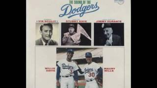 Maury Wills, Willie Davis & Stubby Kaye - Dodger Stadium