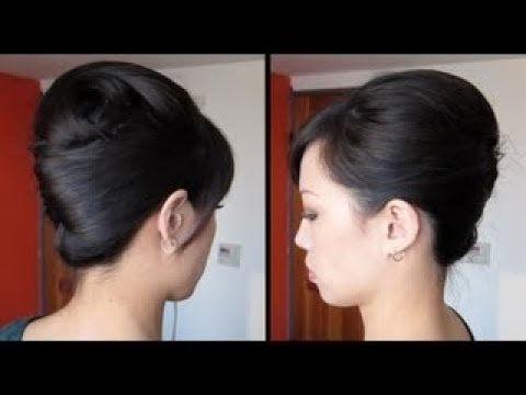 Cara Membuat Model Rambut Pramugari Indonesia Hair Tutorial Youtube