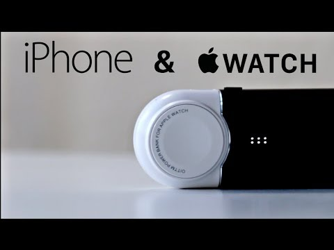 Apple Watch & IPhone Portable Charger! (must Have)