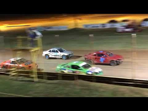 Texarkana 67 Speedway stock car racing action!