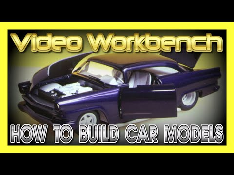 How to Build Plastic Scale Car Models | Video Workbench