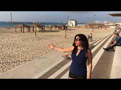 Walking the Tel Aviv Promenade, Israel