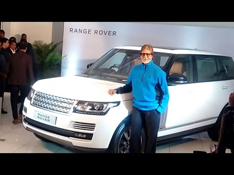 Amitabh Bachchan New Car Land Rover's -Range Rover Receives keys & Delivery Ceremony