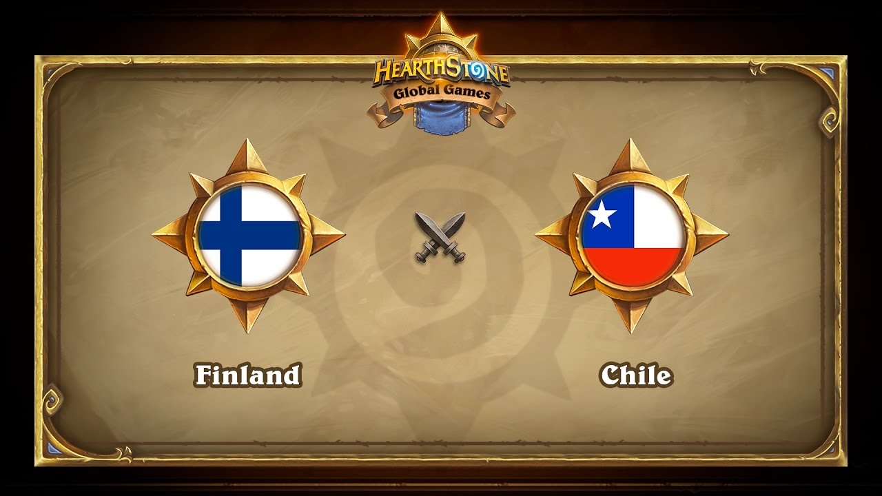 Finland vs Chile, Hearthstone Global Games Group Stage
