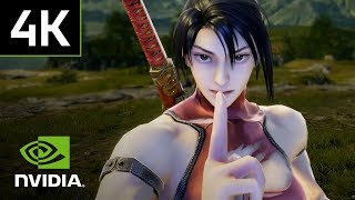 Soul Calibur VI: Exclusive 4K PC Gameplay | Siegfried, Taki, Geralt, and more!