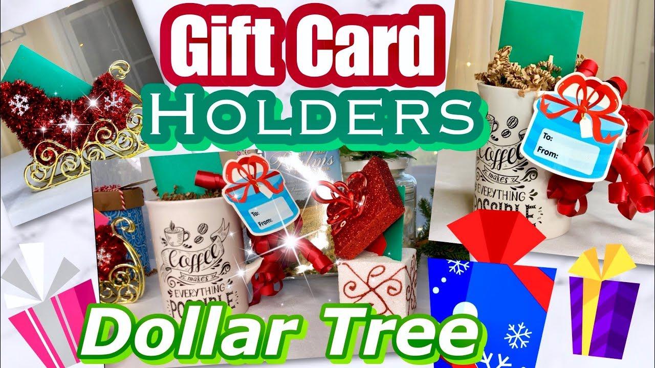 Cute Dollar Tree Gift Card Holder Ideas 25 Days Of Christmas Day