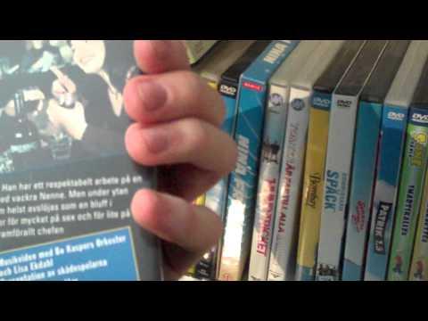 DVD samling - alla mina svenska serier och filmer (mest komedi) Del 2/2