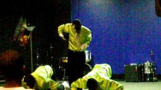 Kirk Franklin Something About The Name Jesus (Neon Flame Mime Ministry)