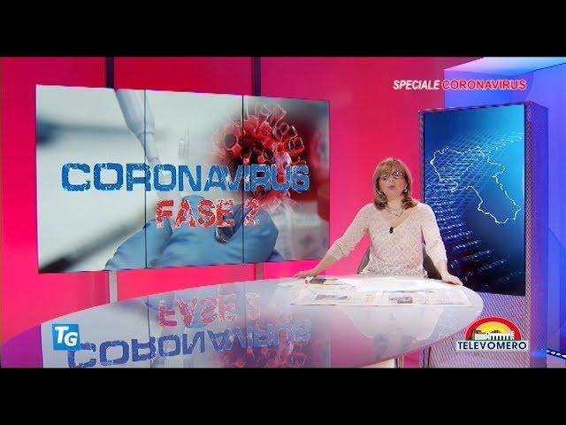 SPECIALE CORONAVIRUS TELEVOMERO NOTIZIE 26 MAGGIO 2020 edizione delle 20 00